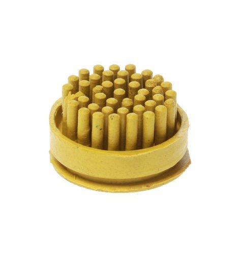 Szczotki szczoteczki do wycieraczki gumowej Domino kolor żółty