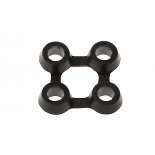 Złączki do maty gumowej Domino Grubość 18 mm 7×7 cm 3 sztuki zestaw