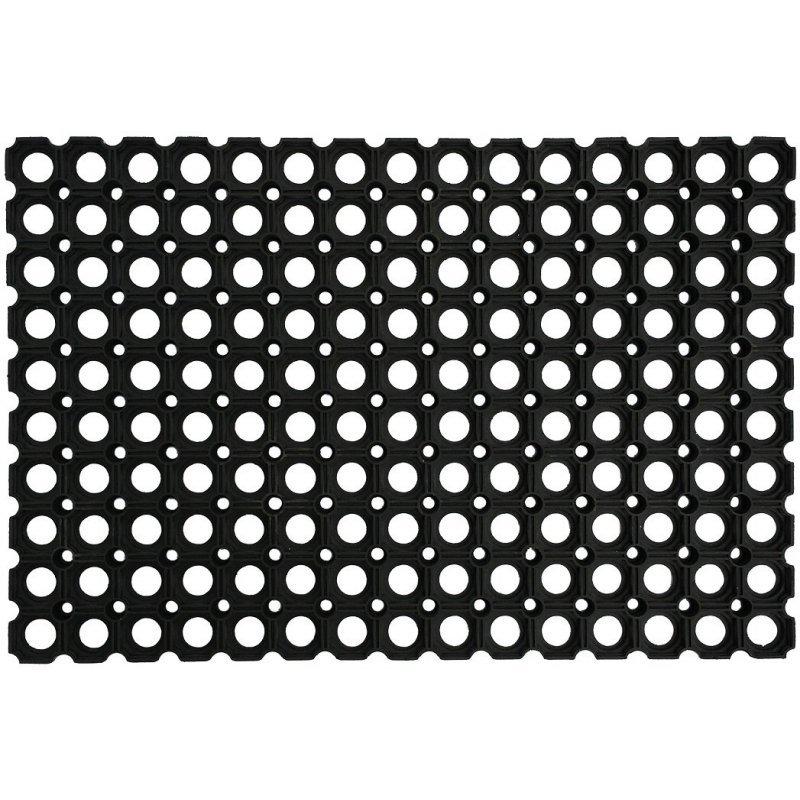 Mata przerostowa na place zabaw 100x150 cm czarna atest
