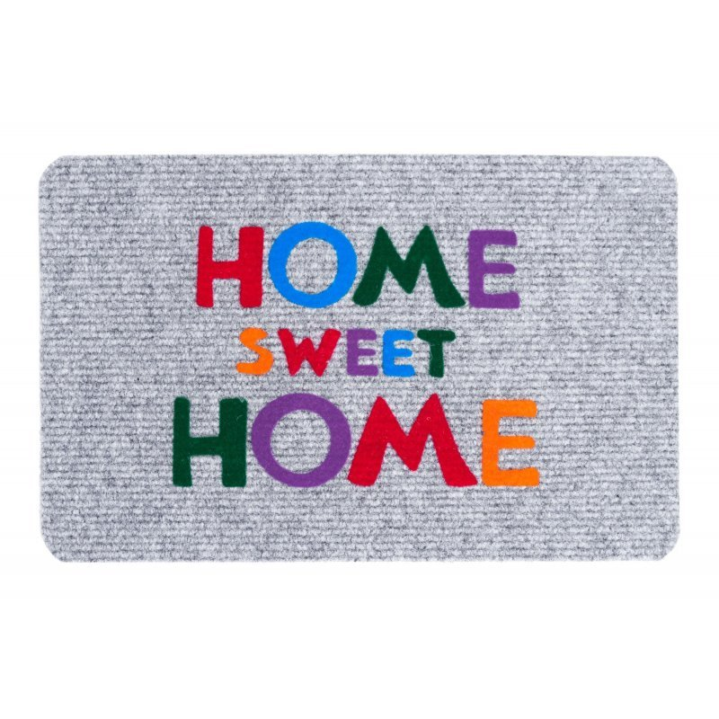 Wycieraczka igłowana paris2 HOME sweet HOME 40x60 cm szara 866-100 ean 5902211866107