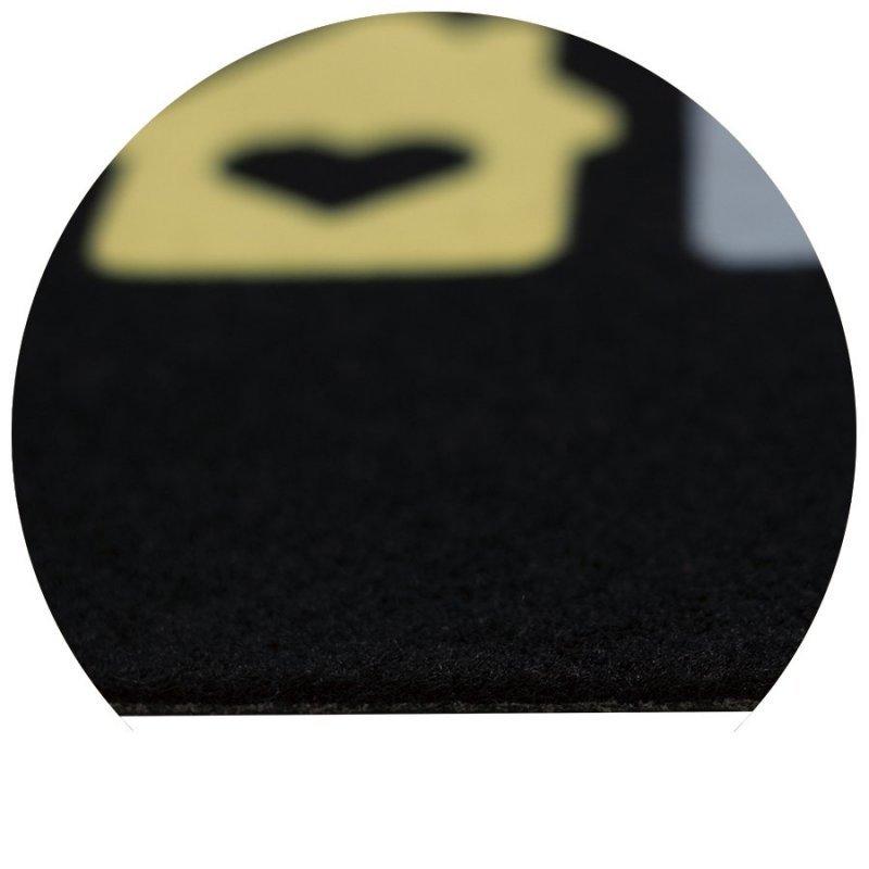 Wycieraczka igłowana Paris 4 Home 40x60 cm czarna 866-000 ean 5902211618669