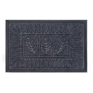 Wycieraczka tekstylna Synthetic szara 40x60cm