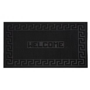 Mix Mat rubber doormat with the word Welcome 40x60 cm black