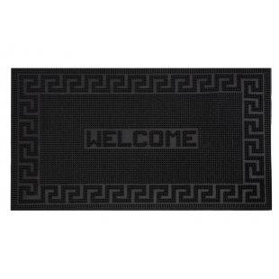 Wycieraczka do butów gumowa Mix Mat napis Welcome 40x60 cm czarna