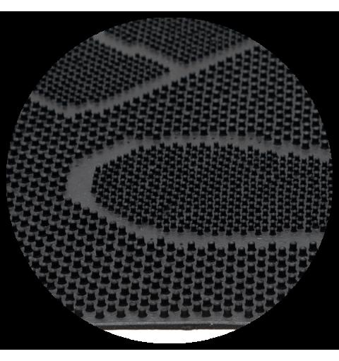 Wycieraczka gumowa igłowa w stopy buty mix mat stopy 40x60 cm czarna 870-002 ean 5902211618720