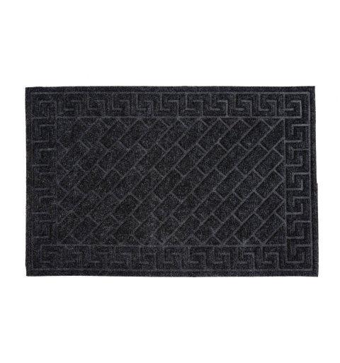 Wycieraczka do butów tekstylna Sofia 40x60 cm wzory prostokąty podgumowana