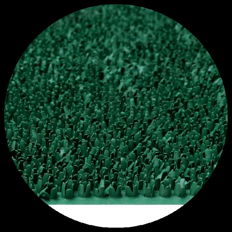 Wycieraczka gumowa trawka Rubber Grass 40x60 cm zielony 879-000 ean 5902211618799