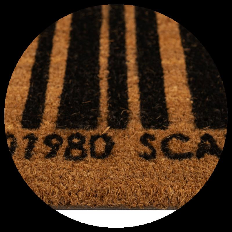 Wycieraczka do butów kokosowa naturalna Kod kreskowy Couleur Natural 40x60 cm kolor brązowy 895-014 ean 5902211618959