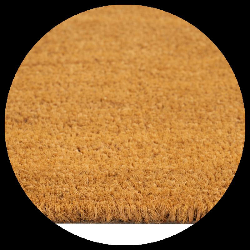 Wycieraczka kokosowa naturalna brązowa Couleur Natural 40x60 cm bez nadruków 896-000  ean 5902211618966