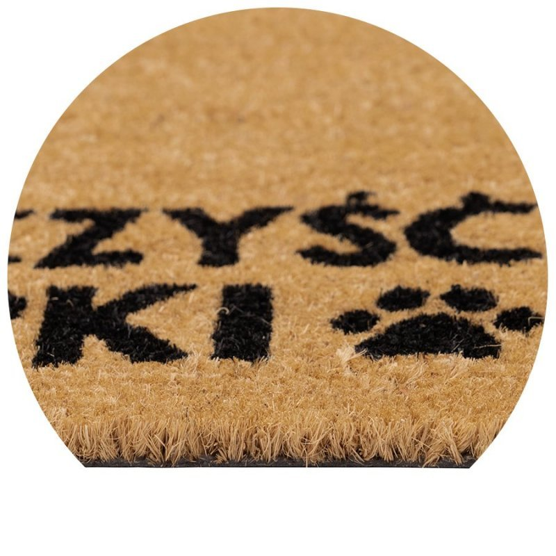 Wycieraczka kokosowa wyczyść łapk Couleur Natural 40x60 cm naturalna brązowy kolor 895-006 ean 5902211895060