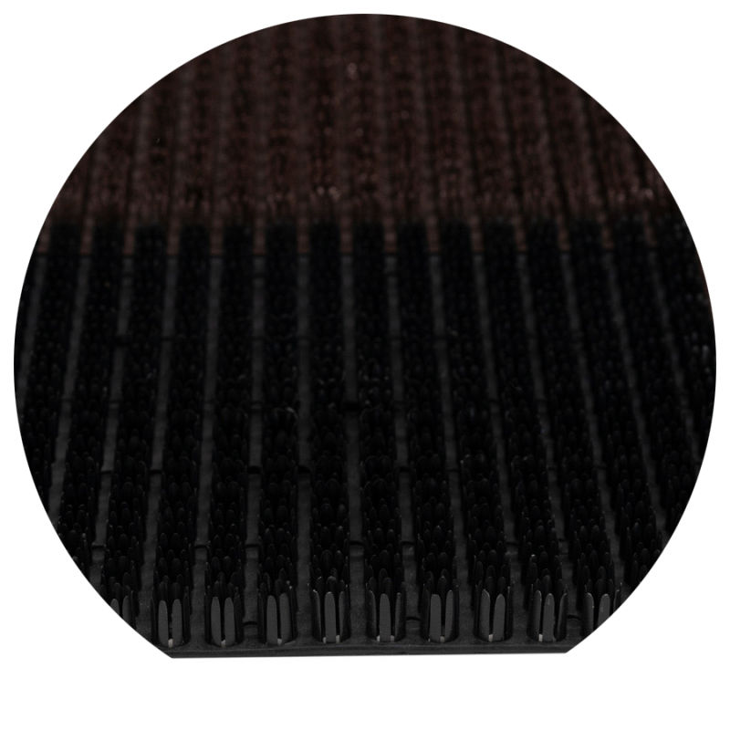 Wycieraczka do butów Trawka 6 elementowa 36x55 cm czarna 876-000 5902211876007