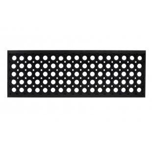 Nakładka mata na schody domino 25x75 cm czarna