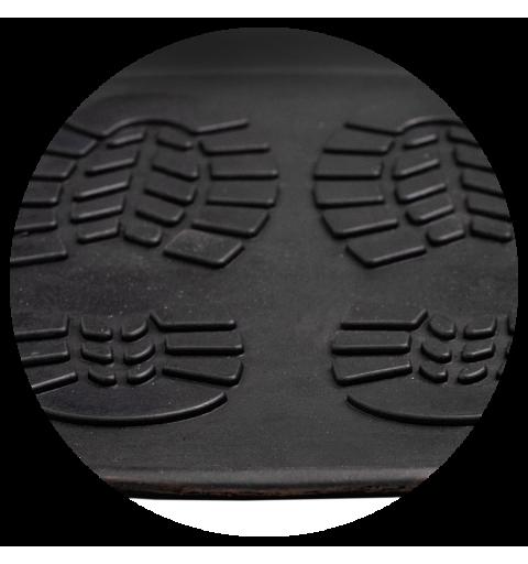 Ociekacz na buty 40x80 cm gumowy elastyczny czarny 128-001