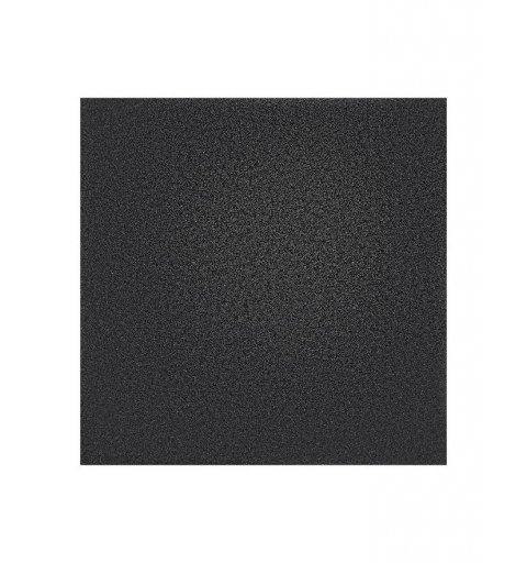 Mata do ćwiczenia gumowa Base Kwadrat 101x101 cm Crossfit siłownia kolro czarny