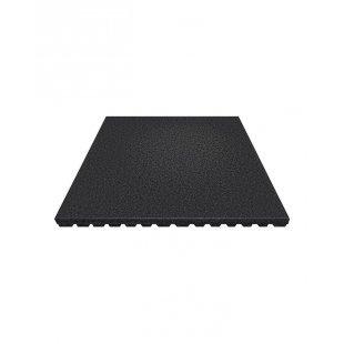 Antishock rubber playground mat board 100x100 cm 40 mm