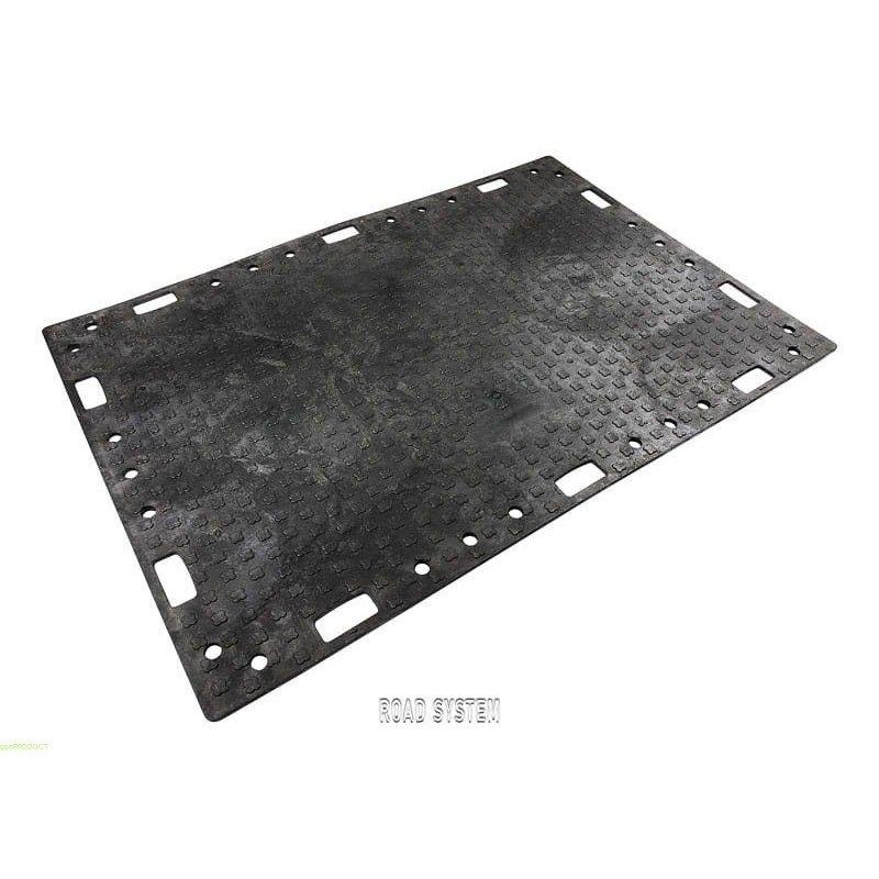 Płyta Drogowa 120x180 cm h 2 cm czarna mata drogowa