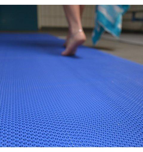 Mata higieniczna Gripwalker Lite kolor niebieski zdjęcie realizacji