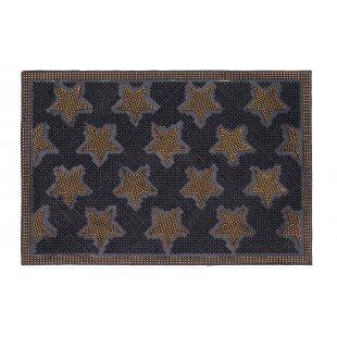 Wycieraczka gumowa wejściowa Duocolor 40x60 cm złote gwiazdki