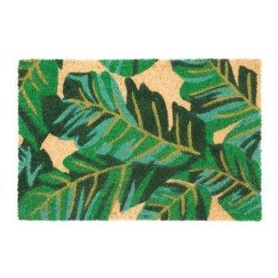 Wycieraczka kokosowa Couleur zielone liście 40x60 cm