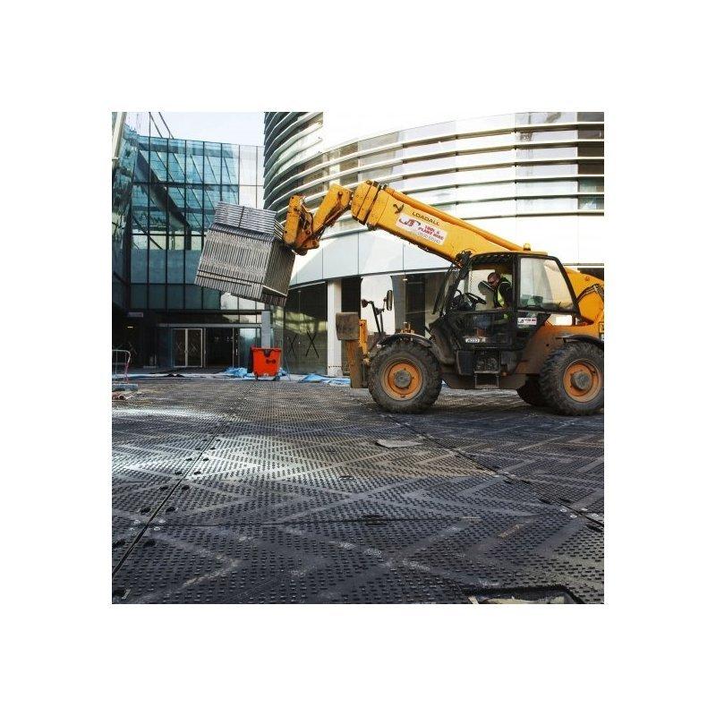 Płyta drogowa gumowa TTEM EuroMat do 120 ton 120x241x1.2 cm