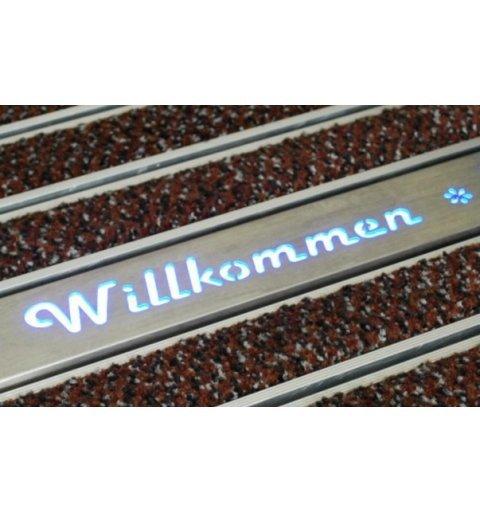 Profil podświetlany z dowolnym napisem / logo
