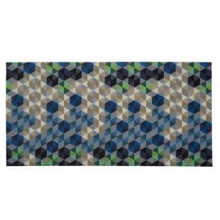 ARTMAT mata tekstylna 100% PP/PCV 60x120 cm bez obrzeży