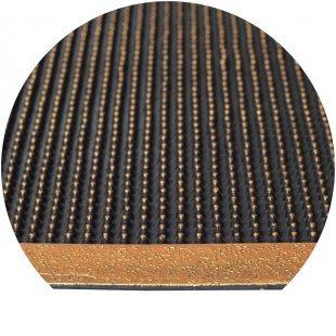 Pinmat złoty wycieraczka gumowa kolcowa z obramowaniem