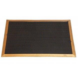 Spike rubberen deurmat met frame Pinmat goud 40x60 60x90 cm