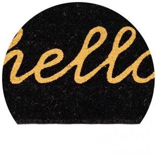 WYCIERACZKA KOKOSOWA  Couleur Glitter hello brąz/czarny 40x60 cm