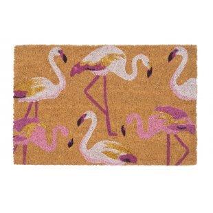 WYCIERACZKA KOKOSOWA  Couleur Glitter różowe pelikany 40x60 cm