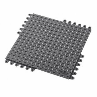 Anti-slip mat De-Flex 570 45x45x1.9 cm black