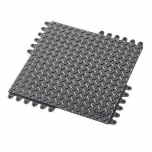 Mata antypoślizgowa De-Flex 570 45x45x1.9 cm czarna
