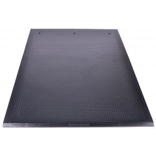 The lying cow mat of the free-standing barns h 28 mm black