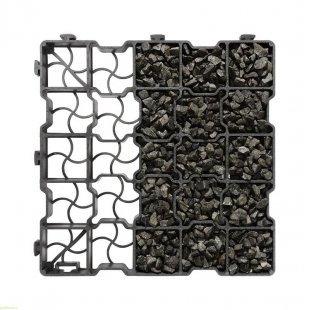 Kratka trawnikowa G25 ekonomiczna kamień 41,5x41,5x2,5 cm