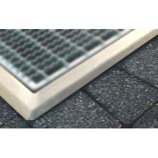 Afdekraam voor aluminium deurmat