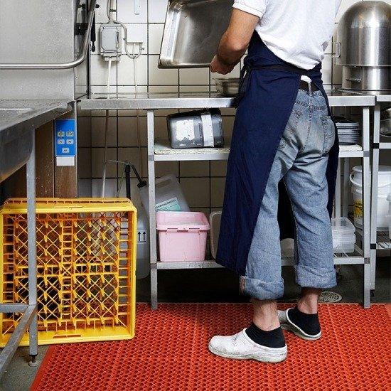 Maty i wykładziny dla przemysłu spożywczego oraz gastronomii antypoślizgowe
